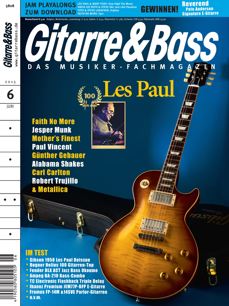Produkt: Gitarre & Bass Digital 6/2015