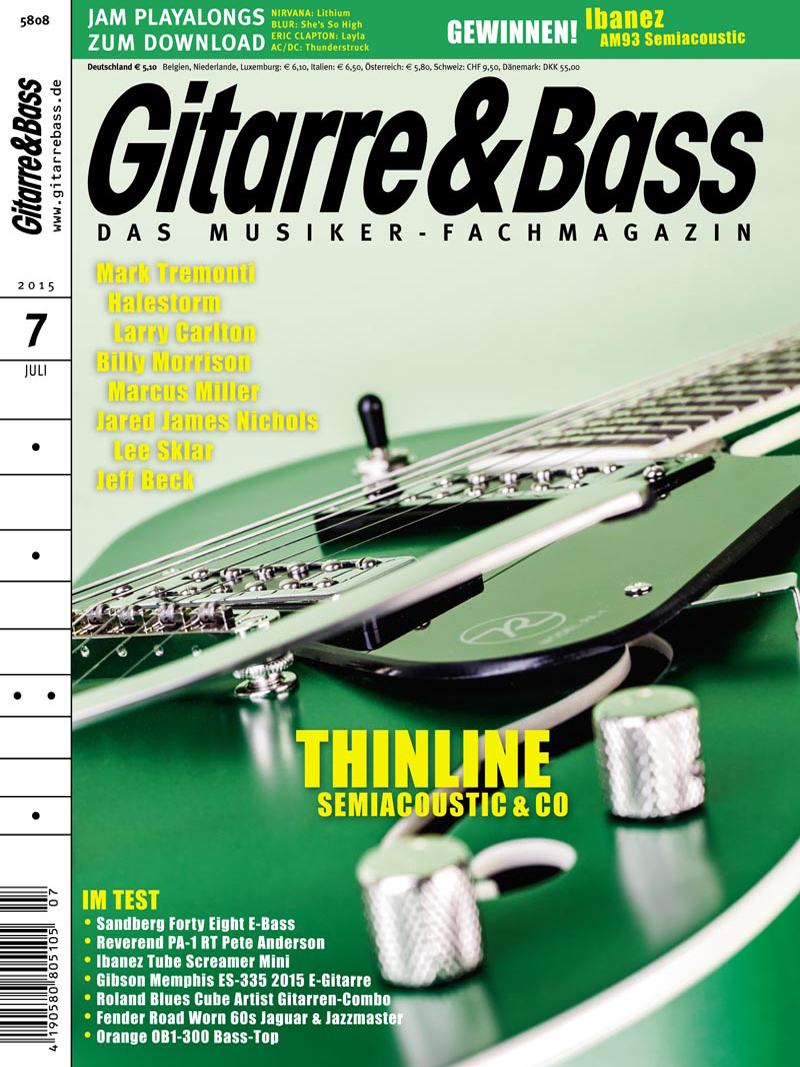 Produkt: Gitarre & Bass Digital 7/2015