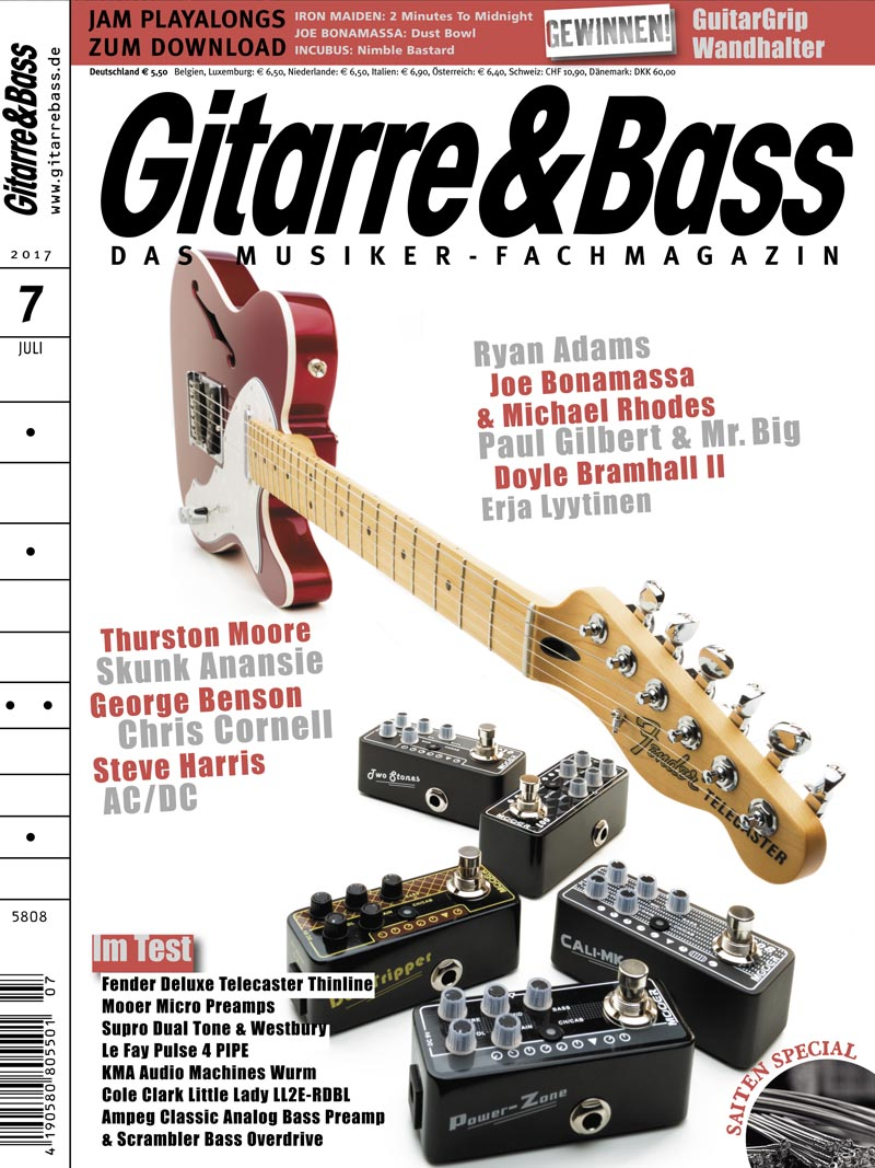 Produkt: Gitarre & Bass Digital 07/2017