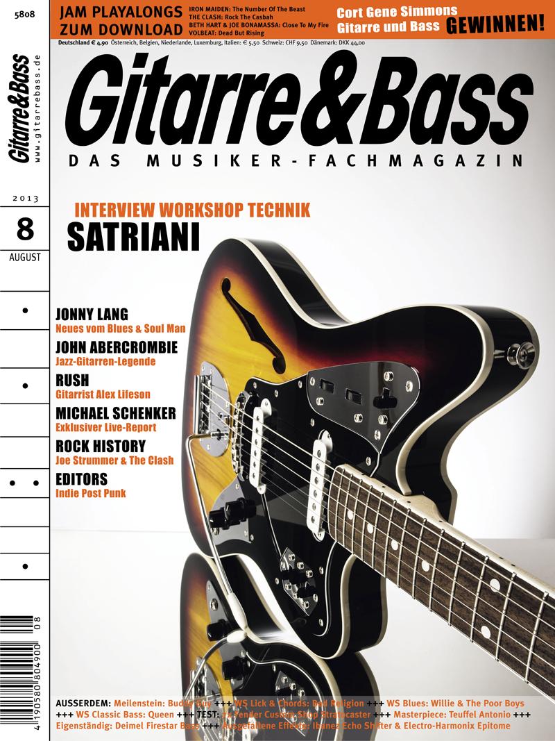 Produkt: Gitarre & Bass Digital 8/2013