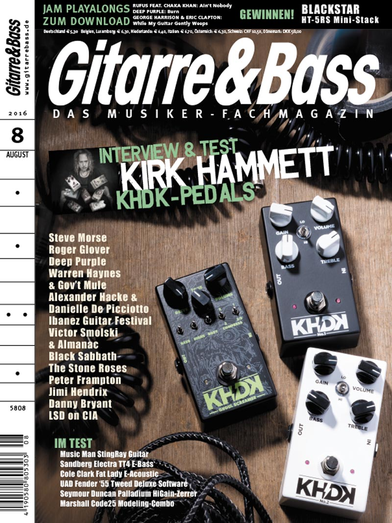 Produkt: Gitarre & Bass Digital 08/2016