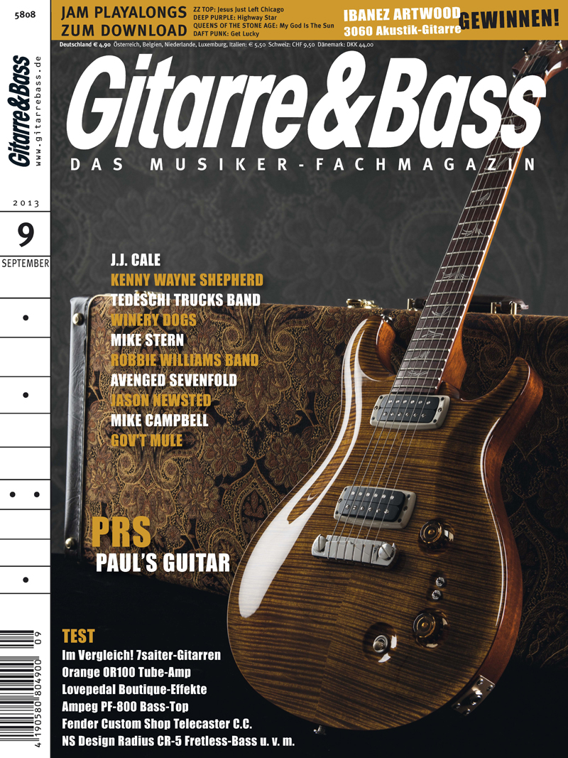 Produkt: Gitarre & Bass Digital 9/2013