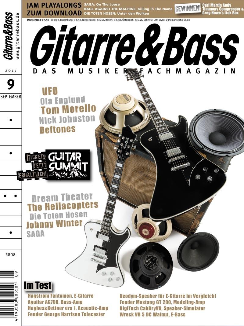 Produkt: Gitarre & Bass Digital 09/2017
