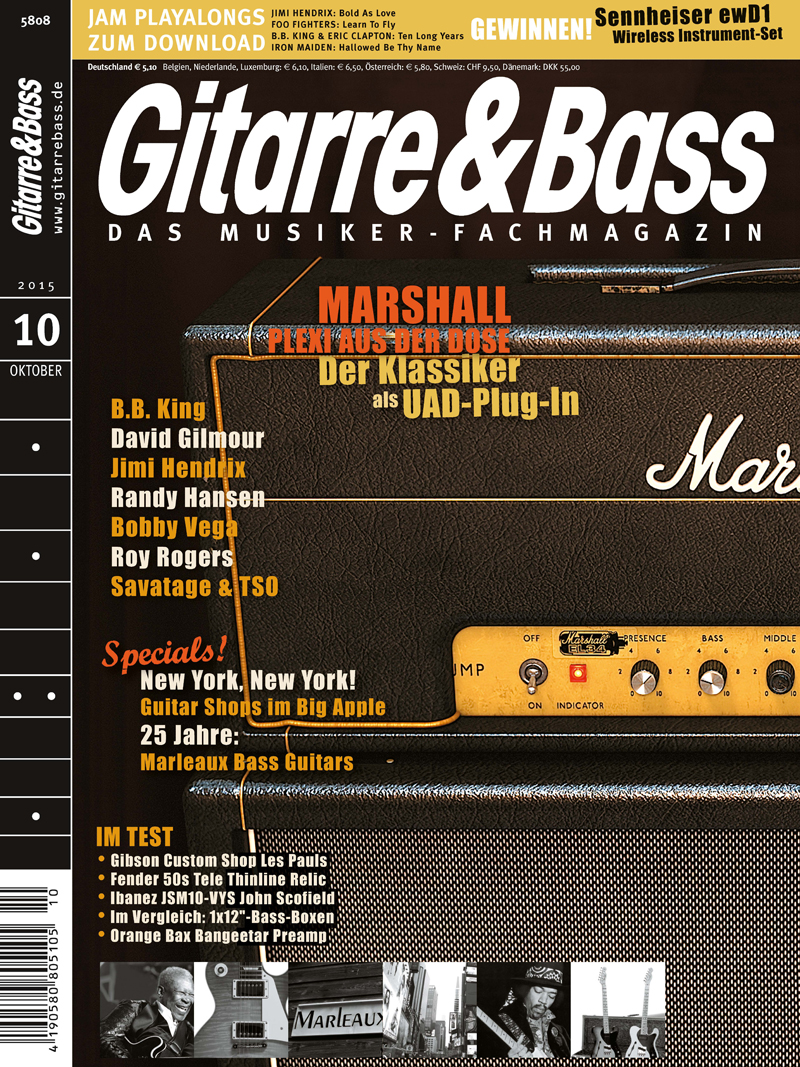 Produkt: Gitarre & Bass Digital 10/2015