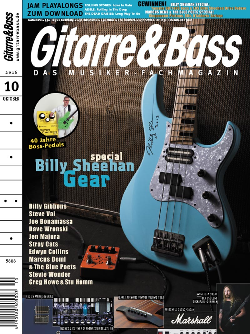 Produkt: Gitarre & Bass Digital 10/2016