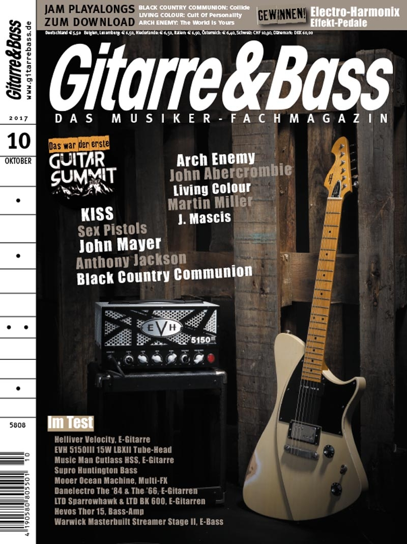 Produkt: Gitarre & Bass Digital 10/2017