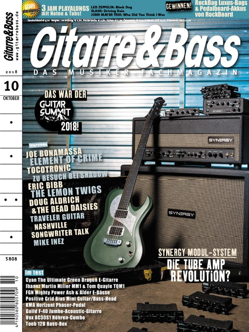 Produkt: Gitarre & Bass Digital 10/2018