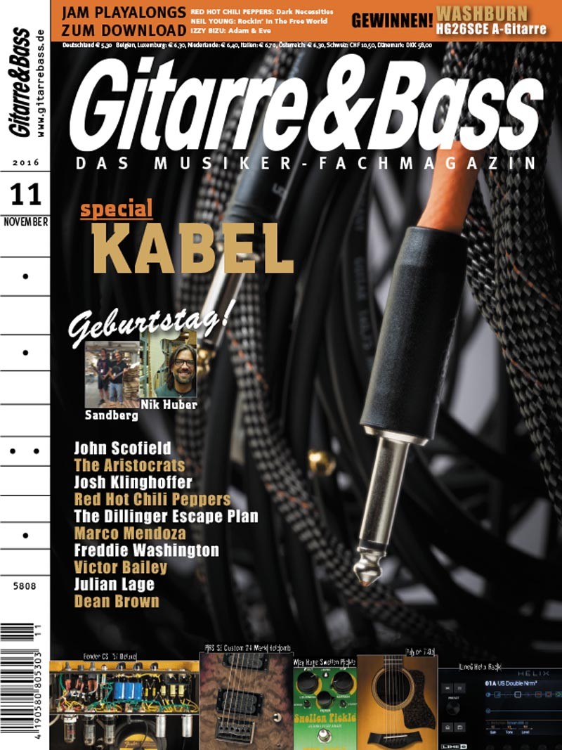 Produkt: Gitarre & Bass Digital 11/2016