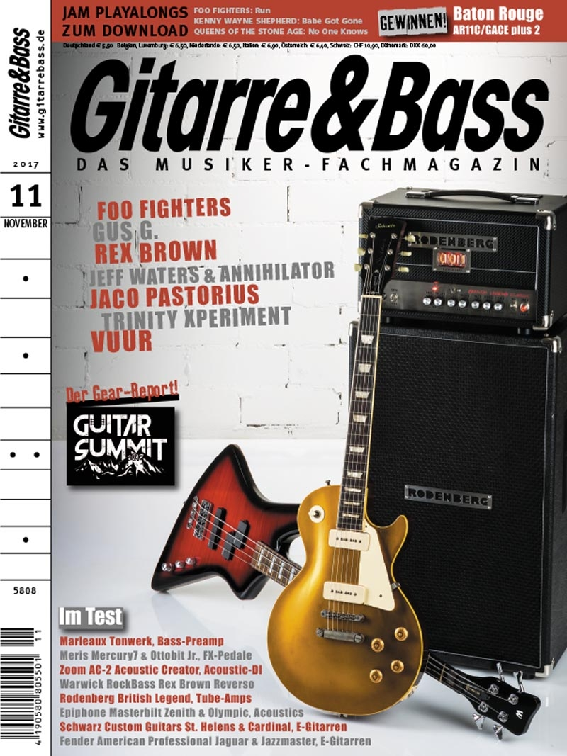 Produkt: Gitarre & Bass Digital 11/2017