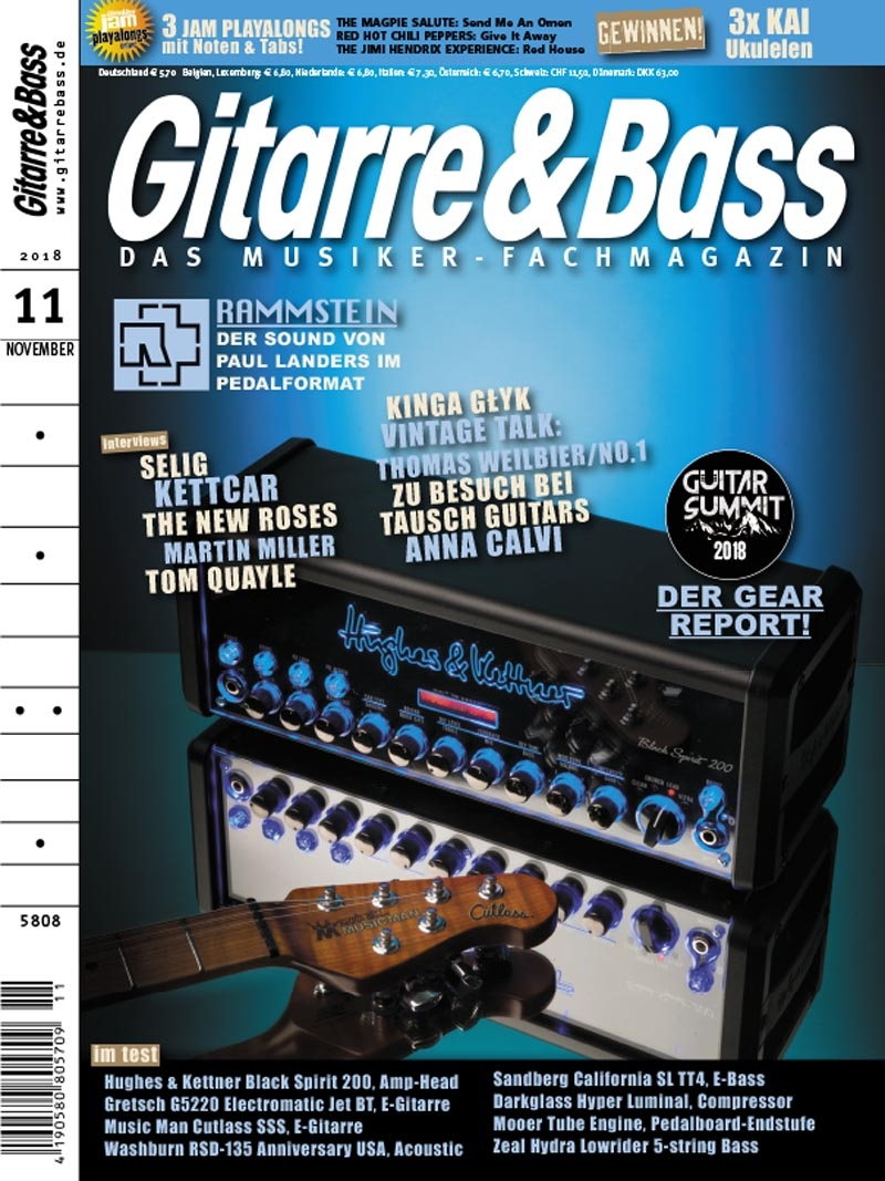 Produkt: Gitarre & Bass Digital 11/2018