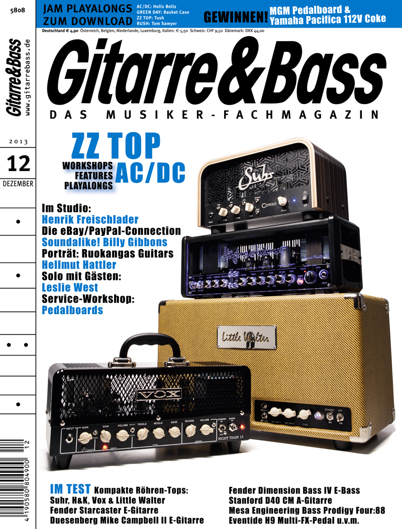 Produkt: Gitarre & Bass Digital 12/2013