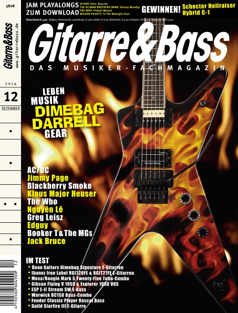 Produkt: Gitarre & Bass Digital 12/2014