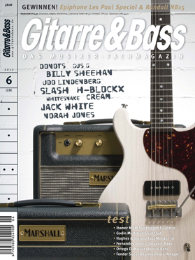 Produkt: Gitarre & Bass Digital 6/2012