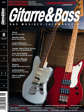 Produkt: Gitarre & Bass Digital 8/2012
