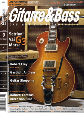 Produkt: Gitarre & Bass Digital 9/2012
