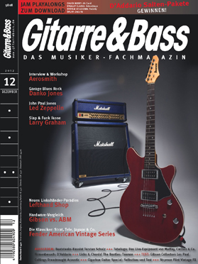 Produkt: Gitarre & Bass Digital 12/2012