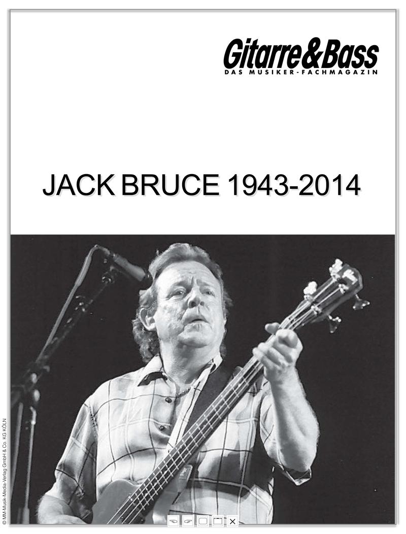 Produkt: Jack Bruce 1943 – 2014