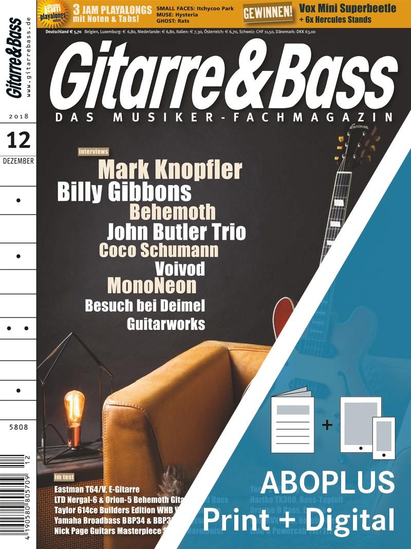 Produkt: GITARRE & BASS AboPlus