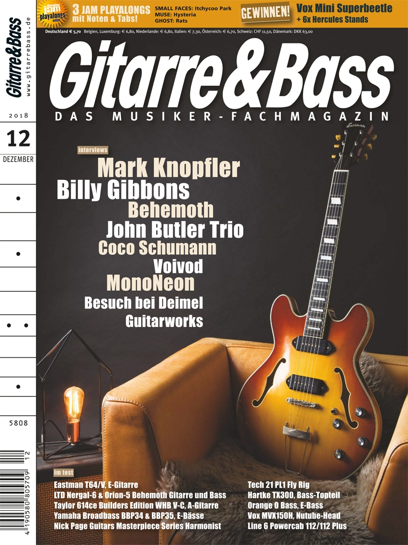 Produkt: Gitarre & Bass Digital 12/2018