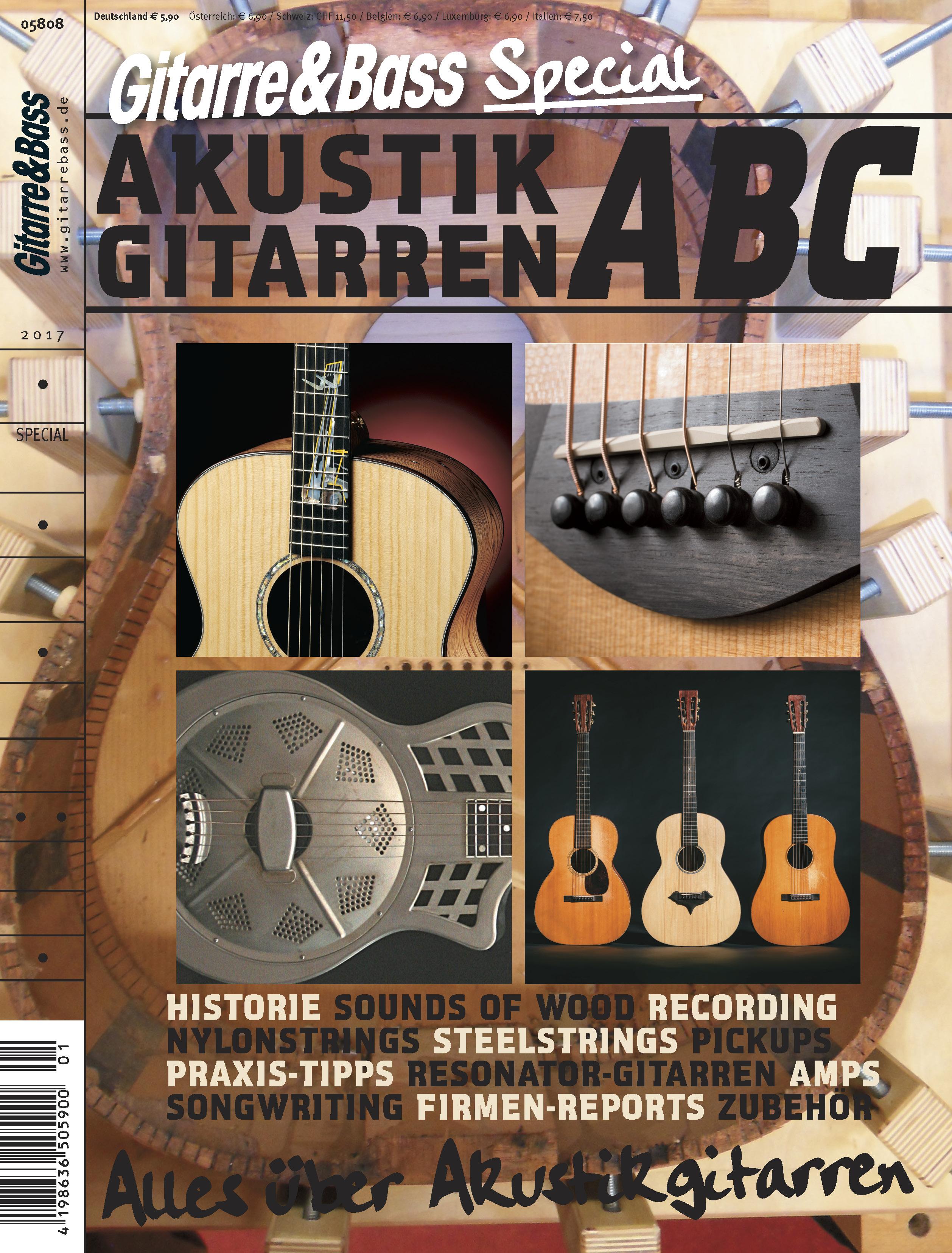 Produkt: Akustikgitarren ABC – Alles über Akustik Gitarren