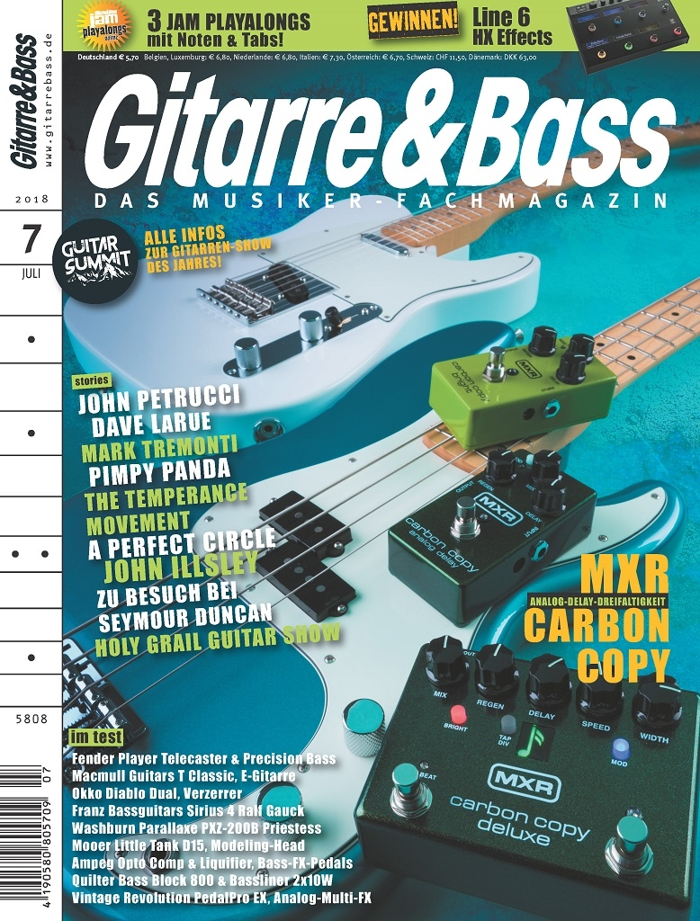 Produkt: Gitarre & Bass Digital 07/2018