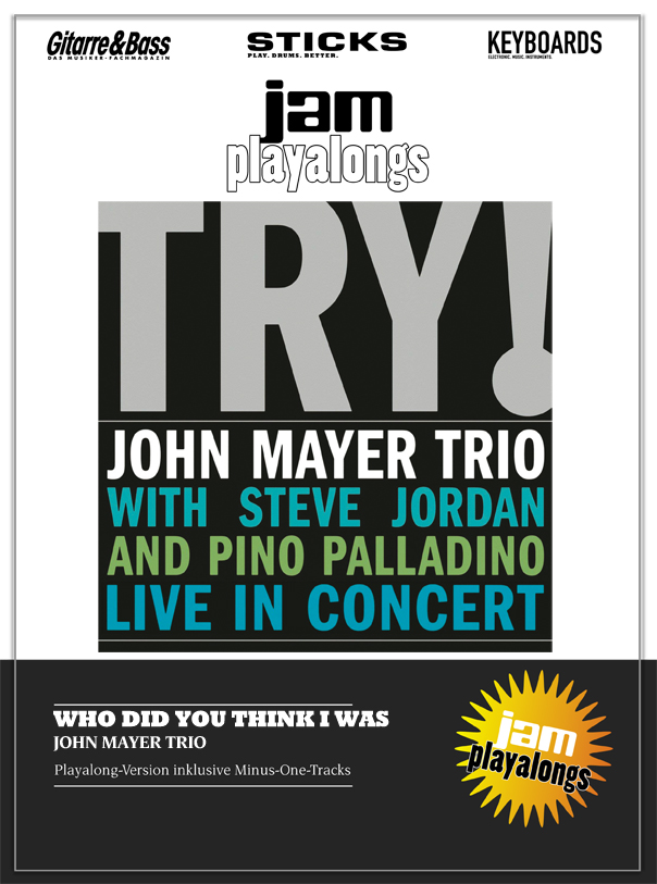 Produkt: Who Did You Think I Was – John Mayer Trio