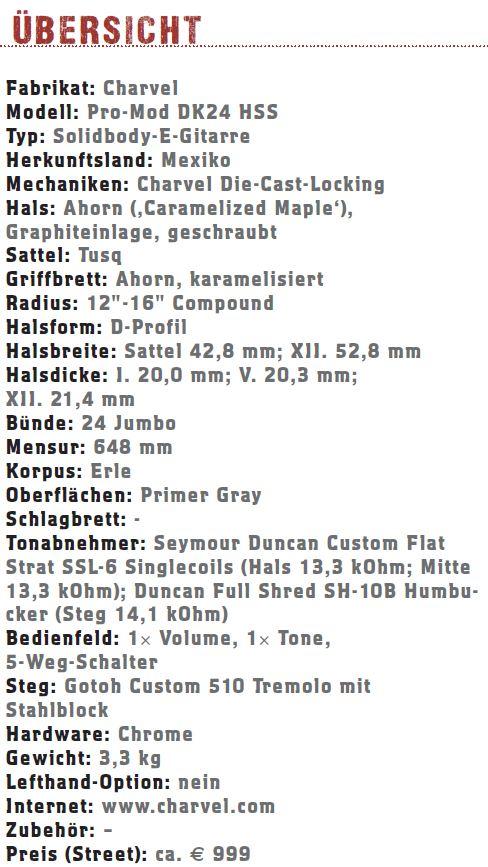 Charvel Pro-Mod DK24