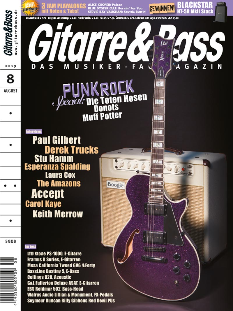 Produkt: Gitarre & Bass 8/2019 Digital