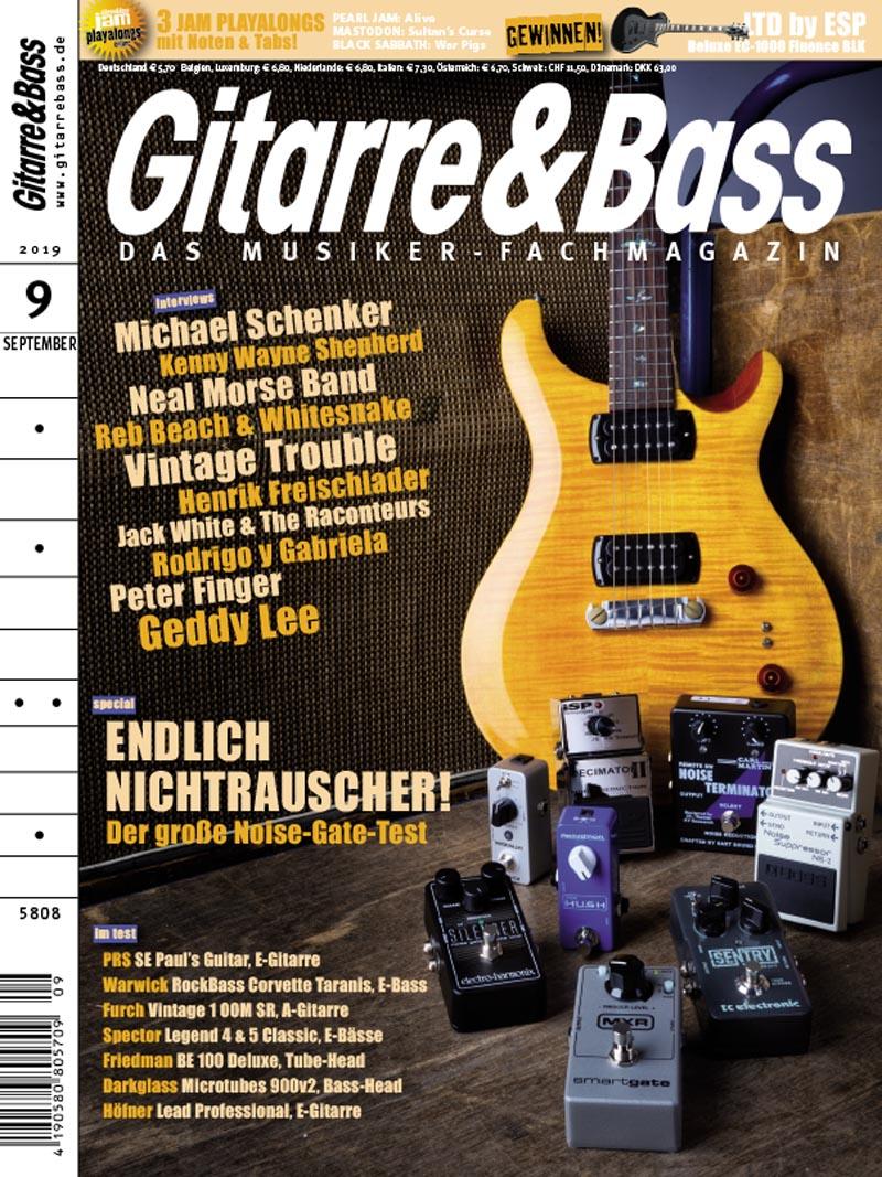Produkt: Gitarre & Bass 9/2019 Digital