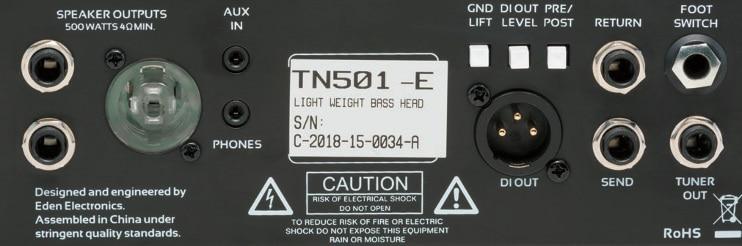 Eden Terra Nova TN501 & TN410