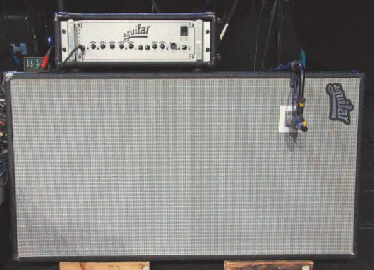 Aguilar-DB-750-Head mit DB-412-Cabinet