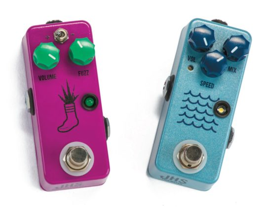 JHS Mini Foot Fuzz V2 & Tidewater Tremolo