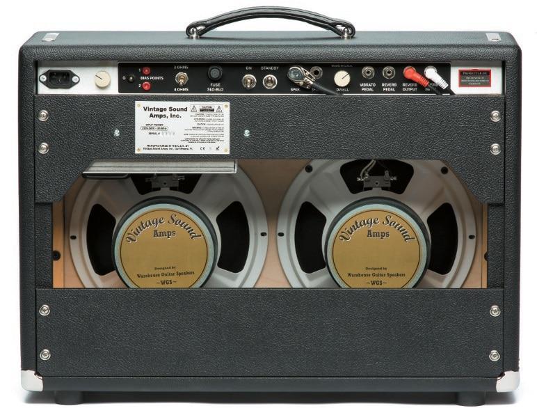 Vintage Sound Brent Mason Signature 45 Combo hinten