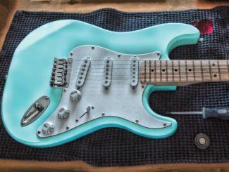 E Gitarre geschlossener Tonabnehmer Tonwahlschalter Kupferkippschalter