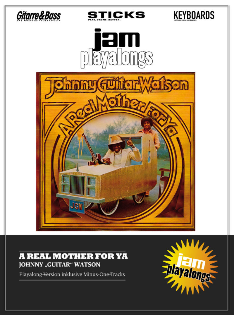 "Produkt: A real mother for ya – Johnny ""Guitar"" Watson"