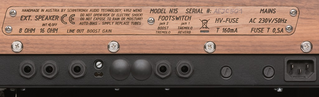 Nepomuk Amplification 15 Ltd. Edition