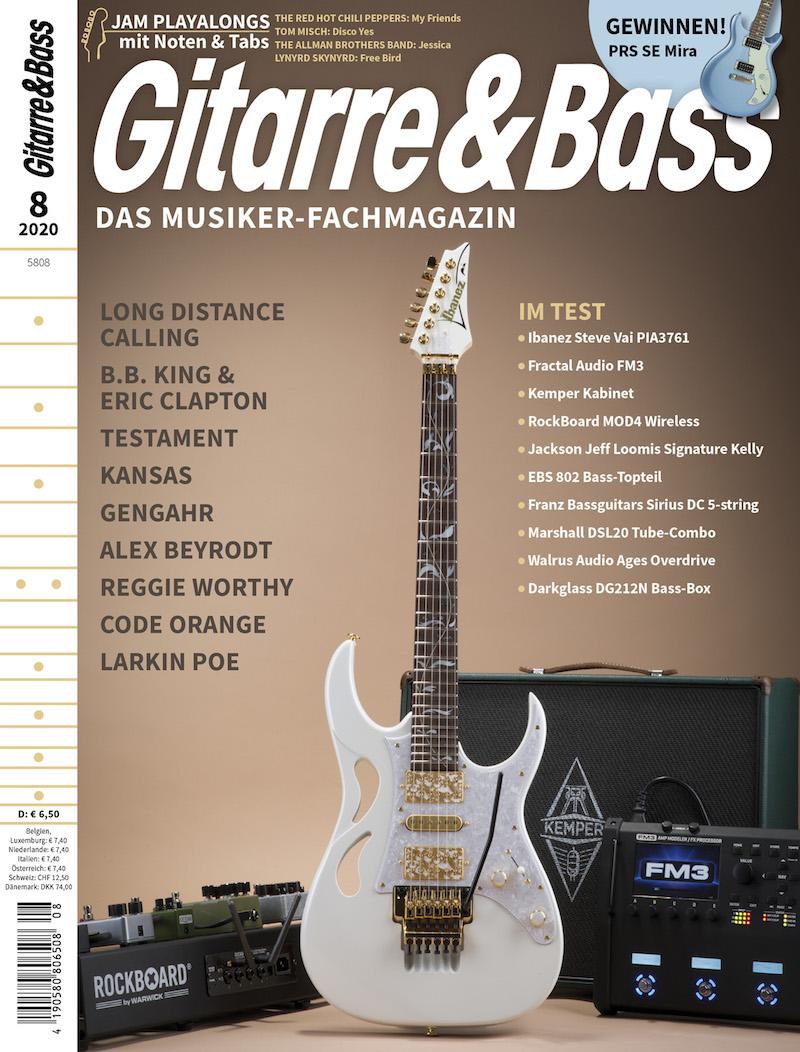 Produkt: Gitarre & Bass 08/2020