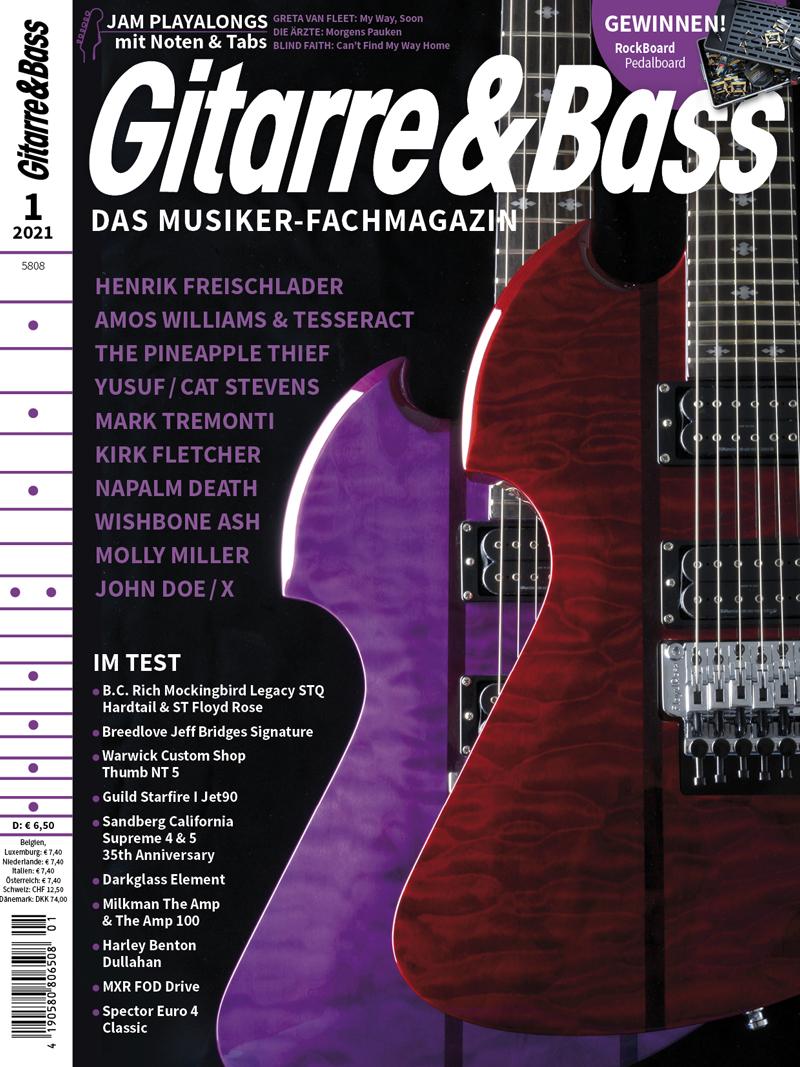 Produkt: Gitarre & Bass 1/2021