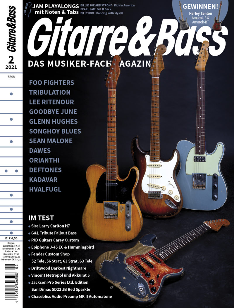 Produkt: Gitarre & Bass 2/2021