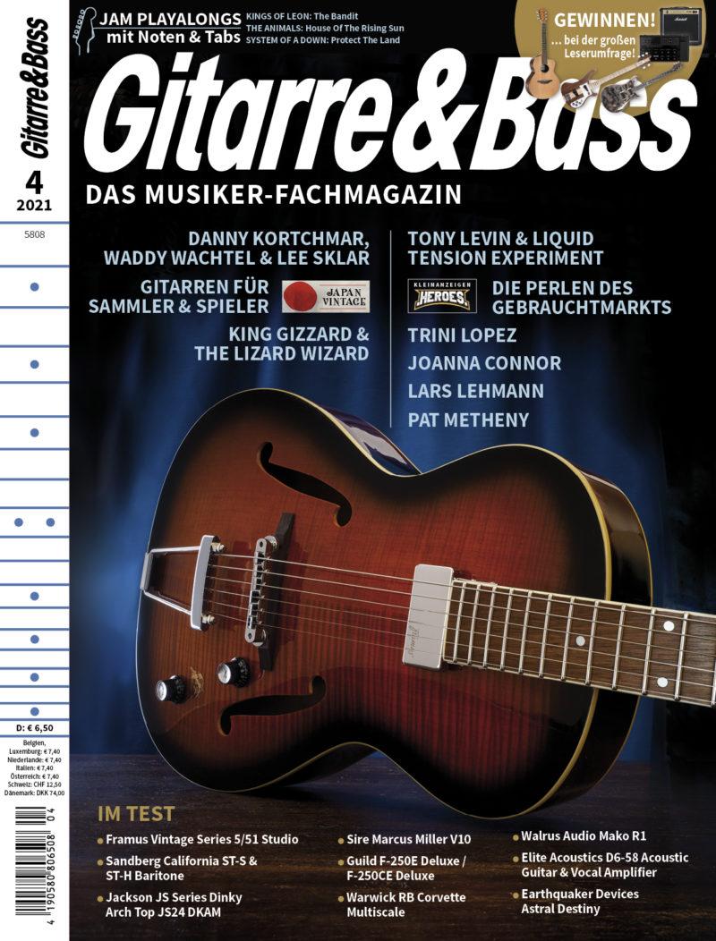Produkt: Gitarre & Bass 4/2021