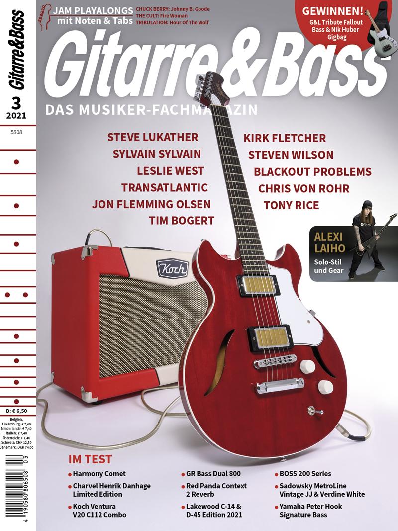 Produkt: Gitarre & Bass 3/2021
