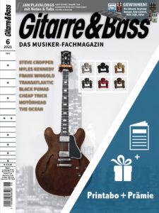 Produkt: Gitarre & Bass Jahresabonnement Print inkl. Aboprämie