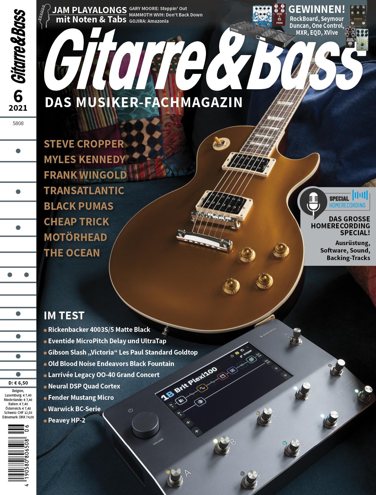 Produkt: Gitarre & Bass 6/2021