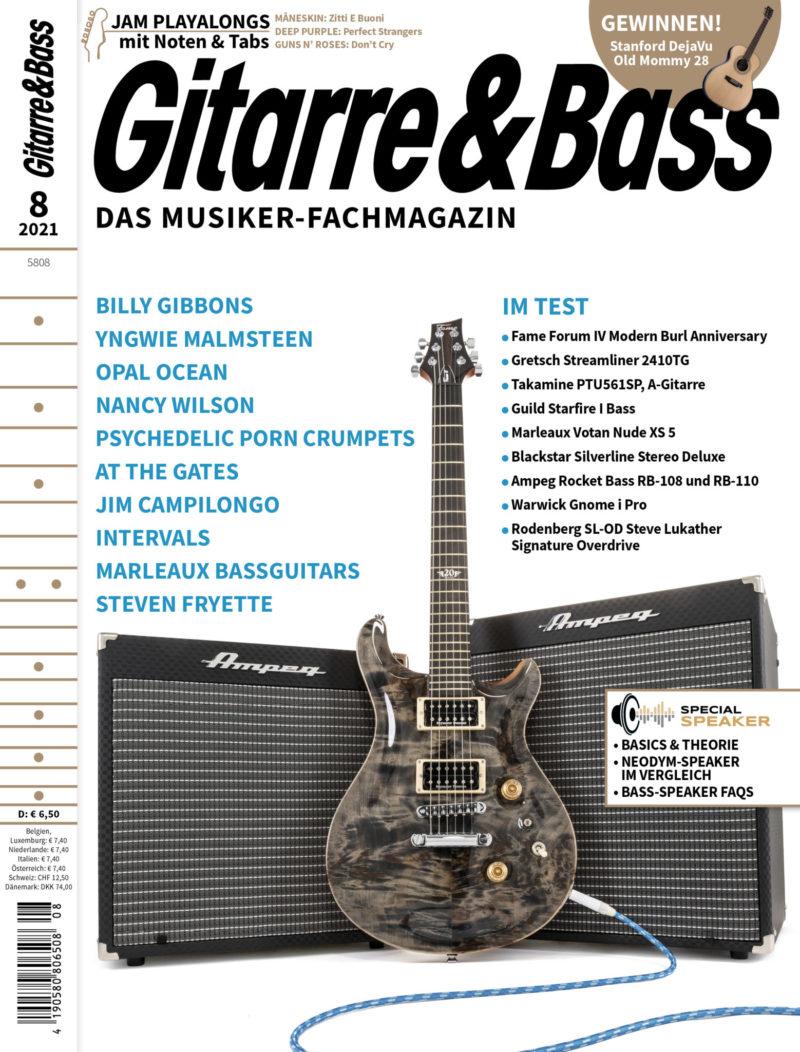 Produkt: Gitarre & Bass 8/2021